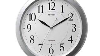 リズム(RHYTHM) 掛け時計 電波 アナログ ピュアライトM26